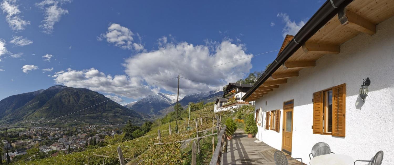 Urlaub über den Dächern Merans-Südtirol - Appartements Linter Dorf Tirol